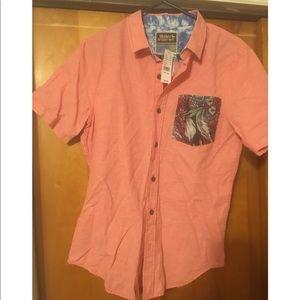 Pacsun Modern Amusement Men's Shirt Sz S NWT